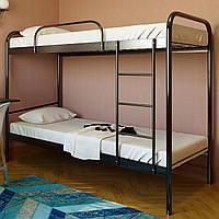 """Кровать двухъярусная """"Релакс Дуо-1"""" 80х190 см. Металлический каркас"""