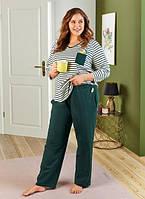 Красивая женская пижама (домашний костюм) размер 3XL