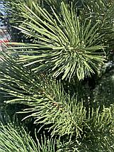 Новогодняя искусственная сосна литая 1,8 метра зеленая, фото 3