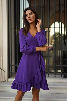 Симпатичное платье с запахом, фото 2