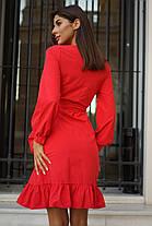Симпатичное платье с запахом, фото 3