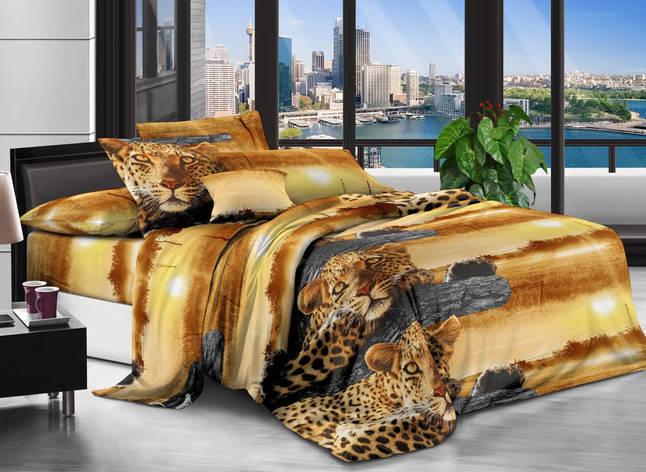 Комплект постельного белья евро размер 3д Наволочки 70*50, фото 2