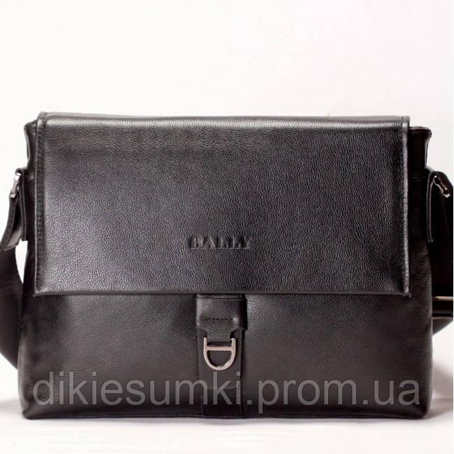 94fbab6525e6 Мужская сумка на плече в стиле BALLY коричневого цвета - Интернет магазин -  Дикие сумки в