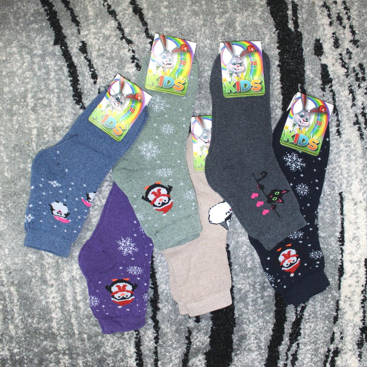 Носки махровые Камис мальчик (В упаковке 12 пар) р-р 20