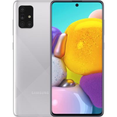 Мобильный телефон Samsung SM-A715FZ (Galaxy A71 6/128Gb) Metallic Silver (SM-A715FMSUSEK)