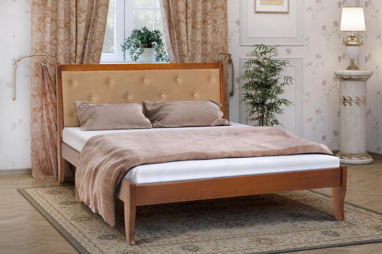Кровать деревянная Флорида 160 х 200 см орех (Беатрис 03)