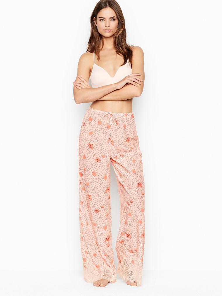 Женские домашние штаны Victoria's Secret art662841 (Розовый, размер XS)