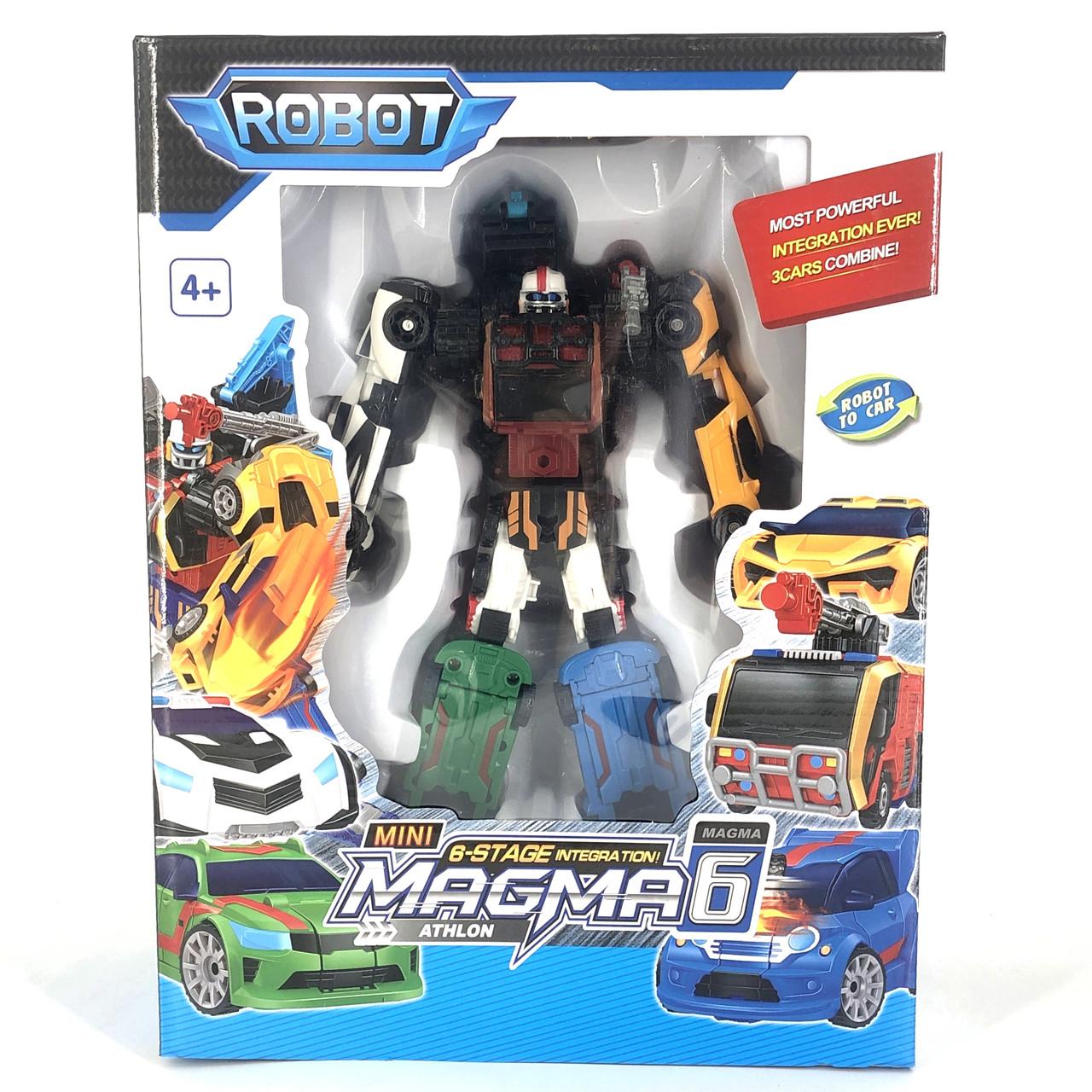 Робот-трансформер Tobot  Magma 6