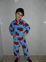 Детская  пижама теплая из плюша