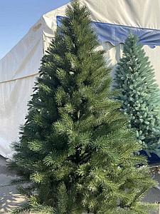 Новогодняя искусственная сосна литая 2,3 метра зеленая