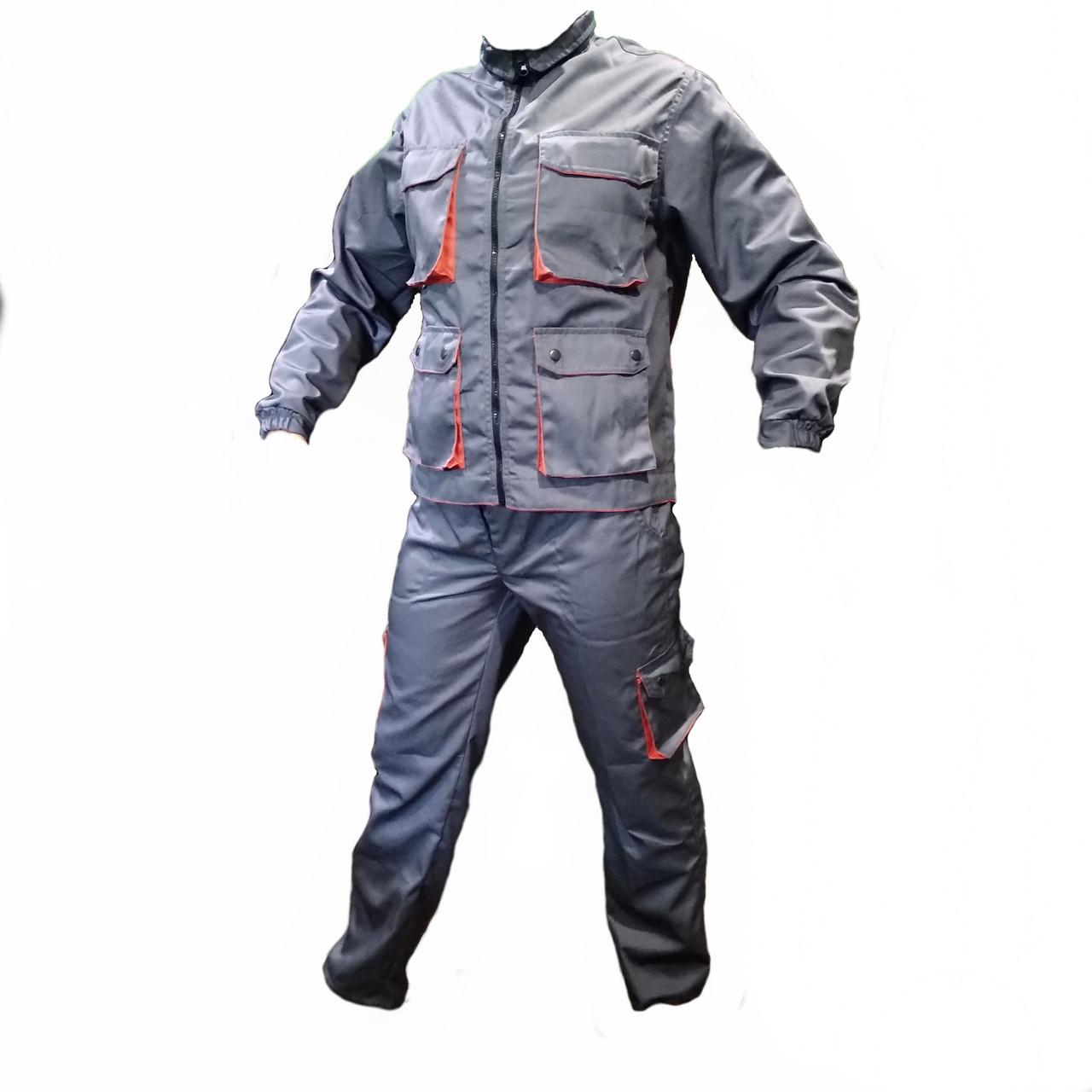 Костюм Рабочий (worker) куртка + полукомбинезон