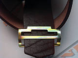 Пряжка (ДМБ Тризуб) бляха латунная, фото 2