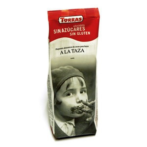 Горячий шоколад TORRAS a la Taza без глютена без сахара 180 г Испания