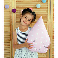 Подушка Капля 33х45 см. Цвет на выбор