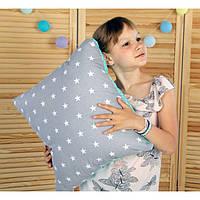 Подушка Квадратная 50х50 см. Цвет на выбор