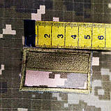 Прапорець піксель нарукавний з ліпою, фото 2