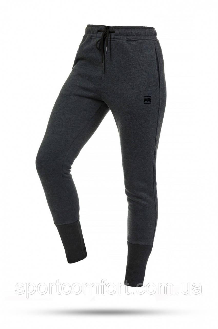Спортивные брюки жеснкие байка Freever серые