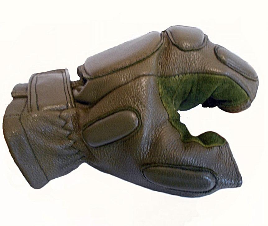 Тактические перчатки Tactical беспалые олива