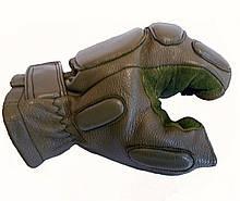 Тактичні рукавички Tactical безпалі олива