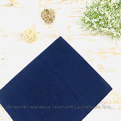 Пеленка детская фланелевая темно-синяя Lukoshkino ® Размер 80х100 см ФП-77