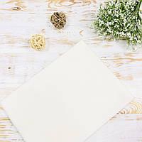 Пеленка детская фланелевая белая Lukoshkino ® Размер 80х100 см ФП-156