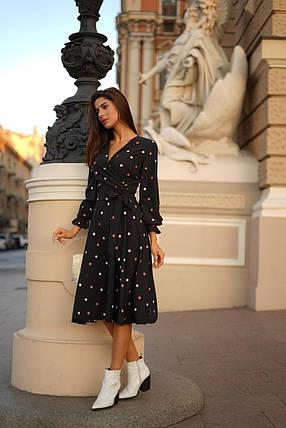 Платье миди на запах, фото 2
