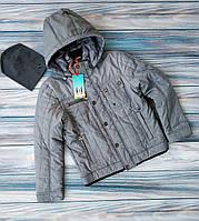 Демисезонная куртка для мальчика подростка от бренда RM kids+Шапка в Подарок!ЧИТАЙТЕ ОПИСАНИЕ ТОВАРА