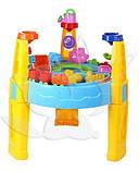 Песочница-стол 8804/M1869, круглая (для воды и песка+игрушки), фото 2