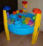 Песочница-стол 8804/M1869, круглая (для воды и песка+игрушки), фото 5