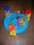 Песочница-стол 8804/M1869, круглая (для воды и песка+игрушки), фото 7