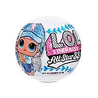 """Ігровий набір з лялькою L. O. L. Surprise! серії All-Star B. B. s"""" - Спортивна команда"""" 570363"""