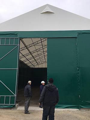 Павильон тентовый 10м*20м для склада  Компании Кернел от TENT.UA