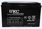 Акумулятор 12 вольт 9A, батарея акумуляторна УКС 12 вольт 9 Ампер, фото 2