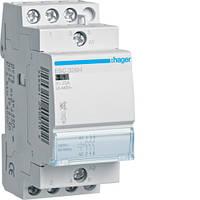 Контактор безшумный 25A, 3НЗ, 230В, 2м Hager (ESC326S)