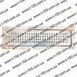Сердцевина радиатора МТЗ 4-х рядная, латунная. Китай, фото 2