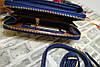 Женский кошелек Wallerry ZL8591 Синий, фото 5