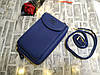 Женский кошелек Wallerry ZL8591 Синий, фото 6