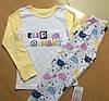 Детская трикотажная пижамка для девочки рост 140, ТМ Фламинго 247 модель