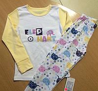Детская трикотажная пижамка для девочки рост 140, ТМ Фламинго 247 модель , фото 1