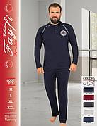 Пижамы мужские плотная байка хорошее качество Турция FAYFI 915