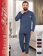 Пижамы мужские плотная байка хорошее качество Турция FAYFI 2095