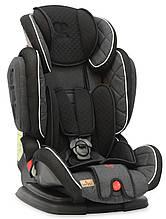 Автокресло Lorelli Magic Premium + sps 1-2-3 (9-36kg) (черно-серый цвет)