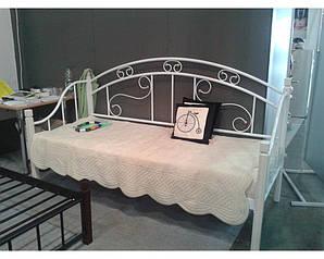 Диван- кровать Орфей металлический на деревянных ножках. ТМ Металл Дизайн
