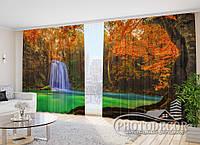 "Фото Штори в зал ""Палац"" 2,7 м*3,5 м (2 полотна по 1,75 м), тасьма"