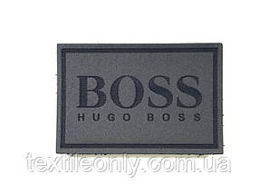 Нашивка Hugo Boss кожзам 60х40 мм