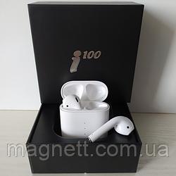 Бездротові навушники i100 сенсорне управління з розумним боксомн