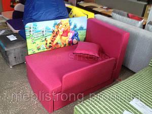 Детский диван с нишей для ребенка Мультик - принт Винни Пух