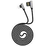 Дата кабель Hoco U42 Exquisite Steel Lightning cable (1.2m), фото 2