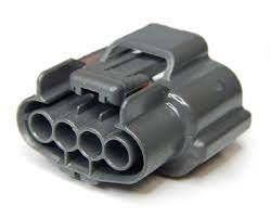 Разьем 4-х контактный генератора Ниссан,Митсубиши, фото 2