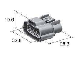 Разьем 4-х контактный генератора Ниссан,Митсубиши, фото 3